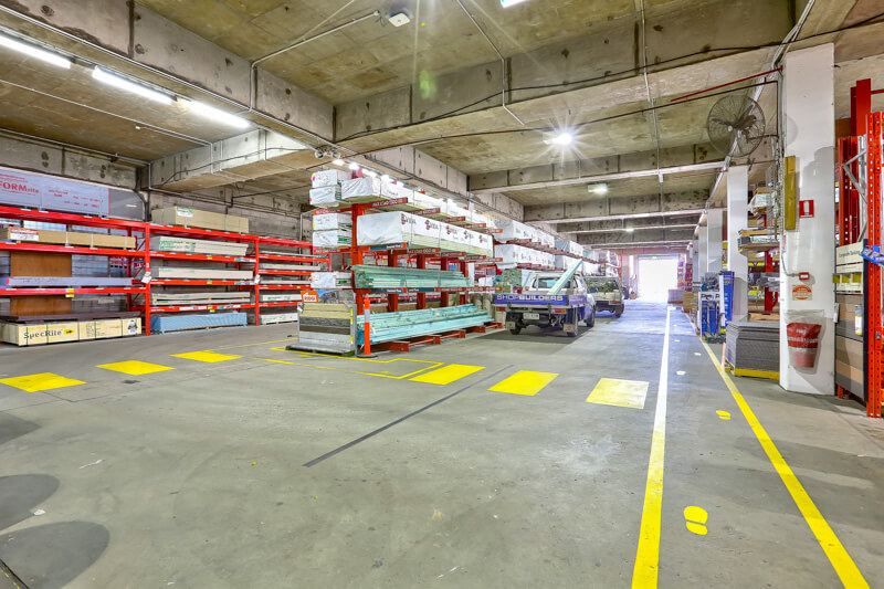 Vivid Productions Commercial Photography Video and Drones - Warehouse Interior Details