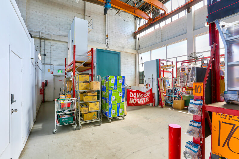 Vivid Productions Commercial Photography Video and Drones - Warehouse Interior