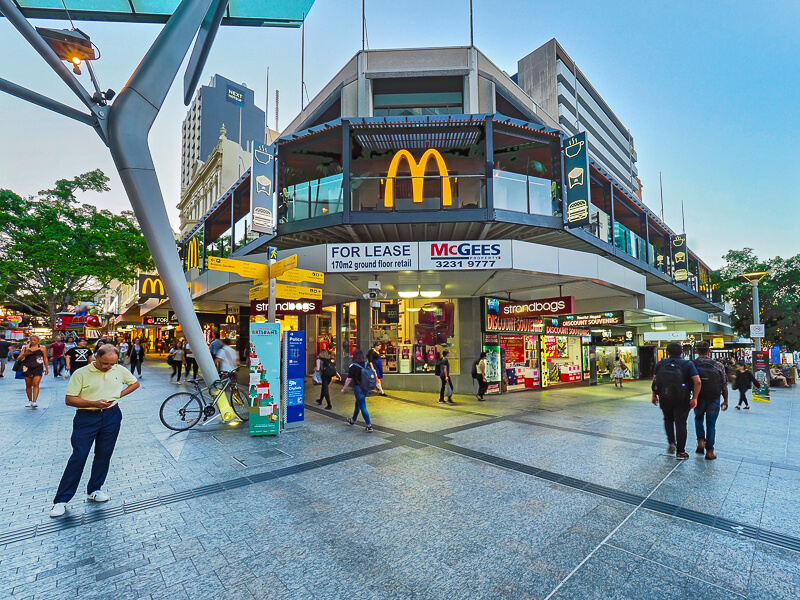 Vivid Productions Commercial Photography and Video Brisbane CBD - Across McDonalds and Space for Lease Building