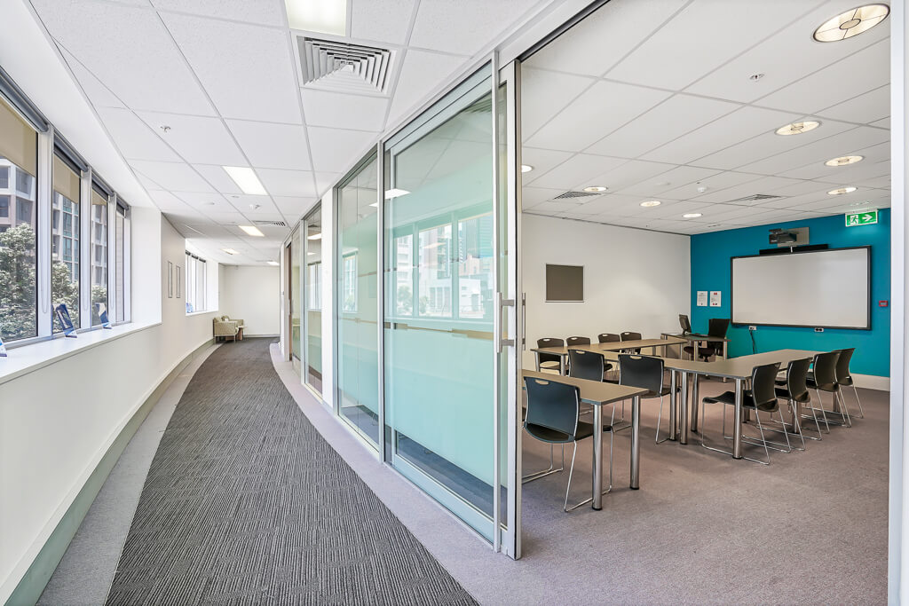 Vivid Productions Commercial Photography and Video Spring Hill - Training Board Room Sliding Door