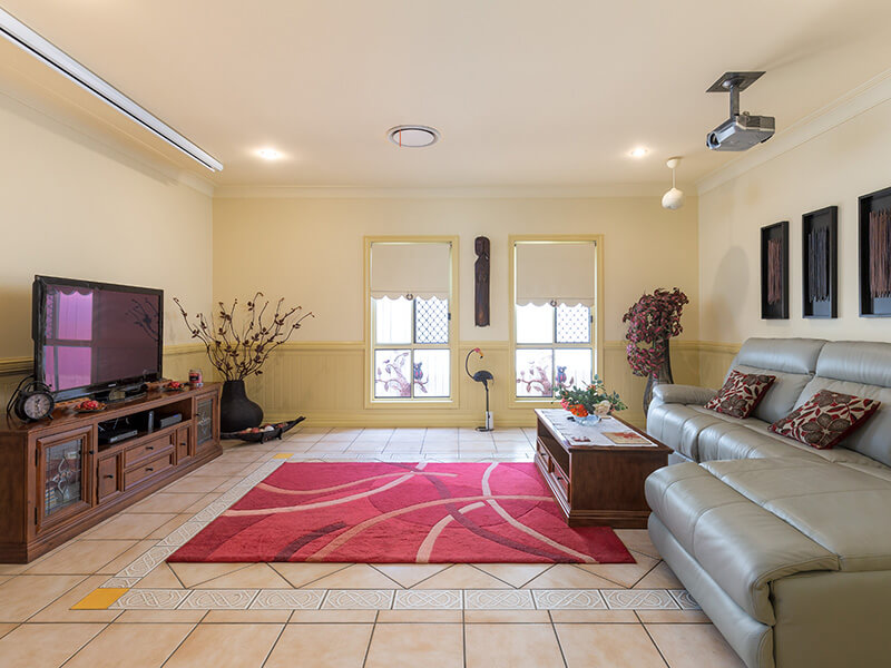 Vivid Productions Residential Photography Kuraby - Comfy Carpeted Living Room