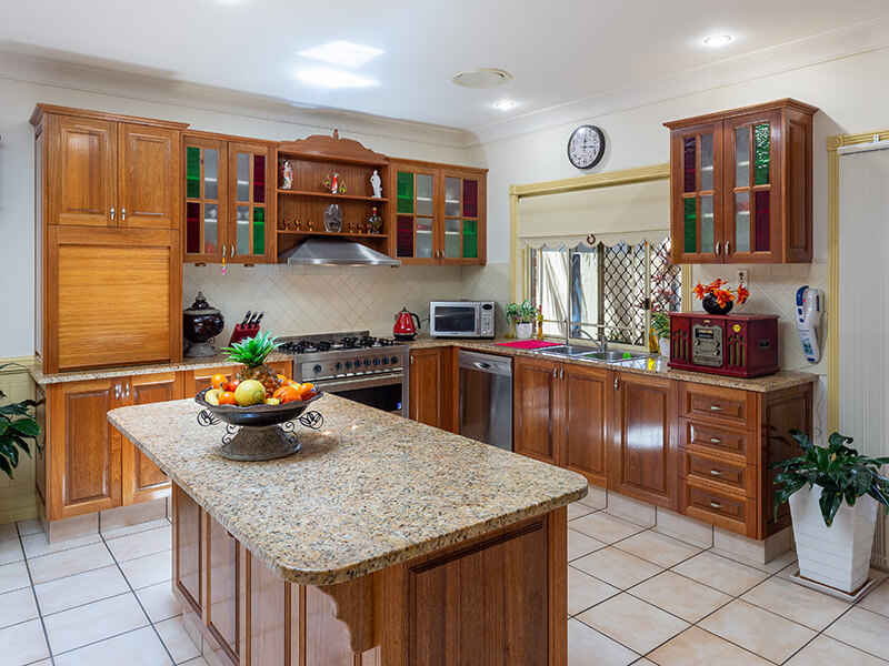 Vivid Productions Residential Photography Kuraby - Furnished Kitchen and Storage