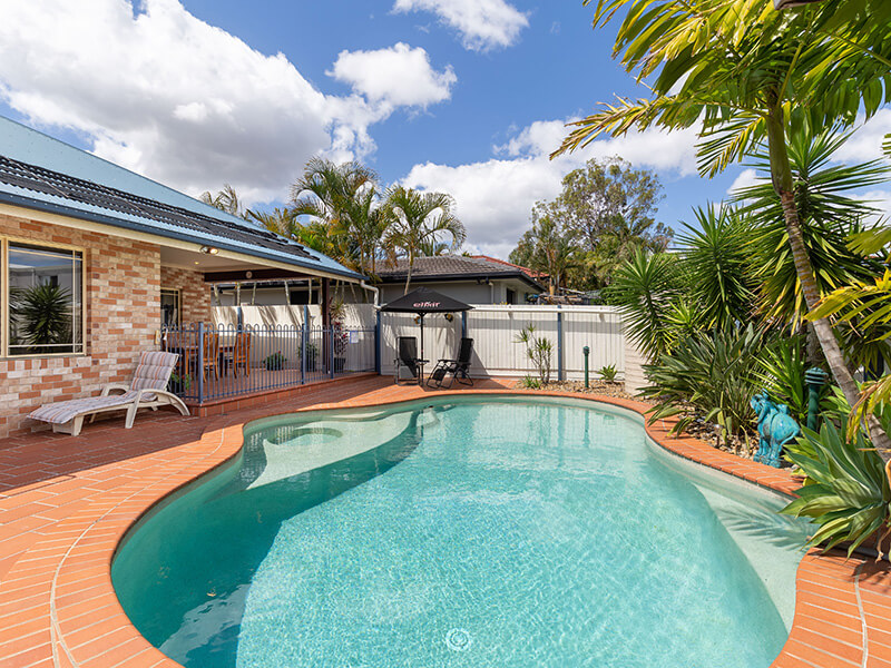 Vivid Productions Residential Photography Kuraby - Inground Backyard Swimming Pool