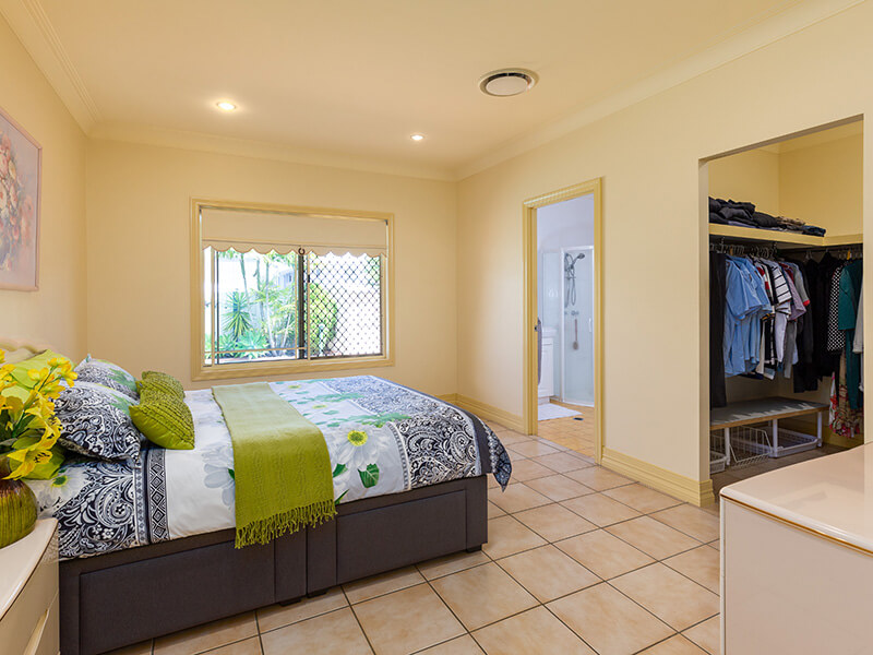 Vivid Productions Residential Photography Kuraby - Masters Bedroom with Wide Dresser Room