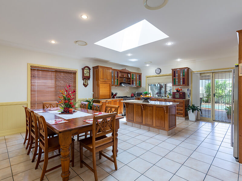 Vivid Productions Residential Photography Kuraby - Spacious Kitchen and Dining Area