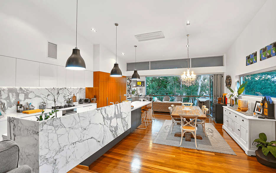 Vivid Productions Residential Photography Modern Architecture - Classy Modern Kitchen and Dining