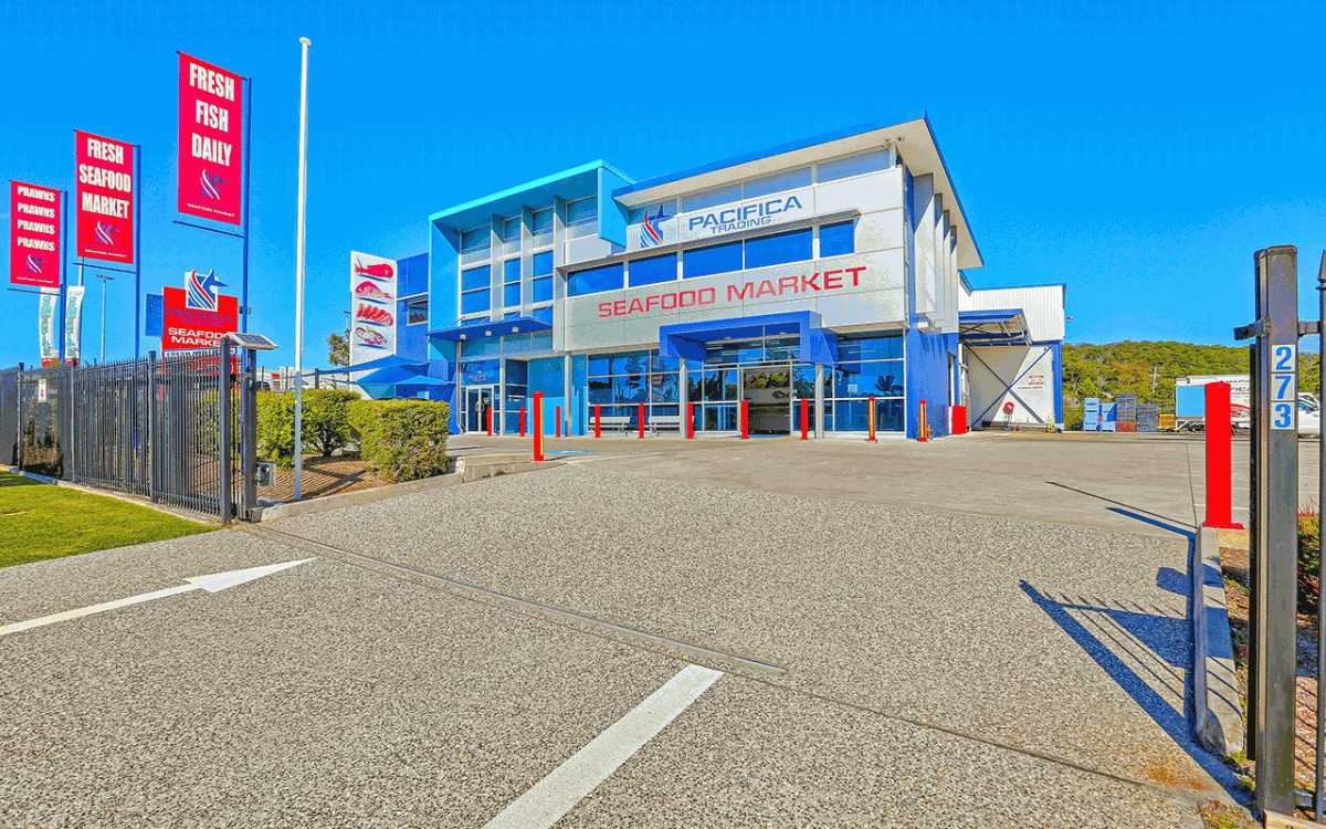 Vivid Productions Commercial Real Estate Photography - Market Place Pacifica Trading Seafood Market