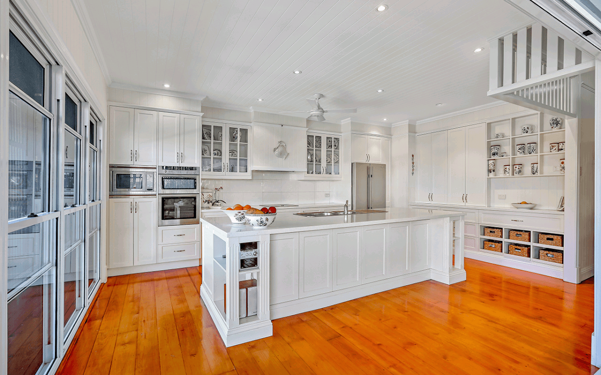 Vivid Productions Residential Real Estate Photography - Kitchen Island on Timber Flooring