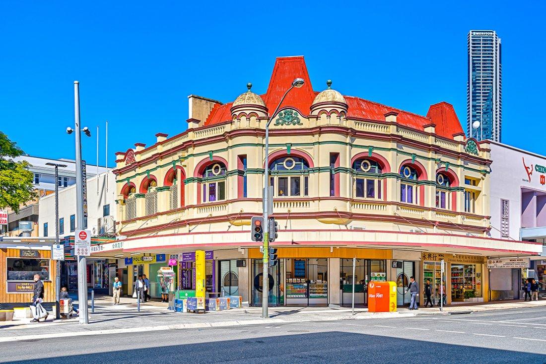 Vivid Productions Commercial Real Estate Photography - Fortitude Valley heritage building