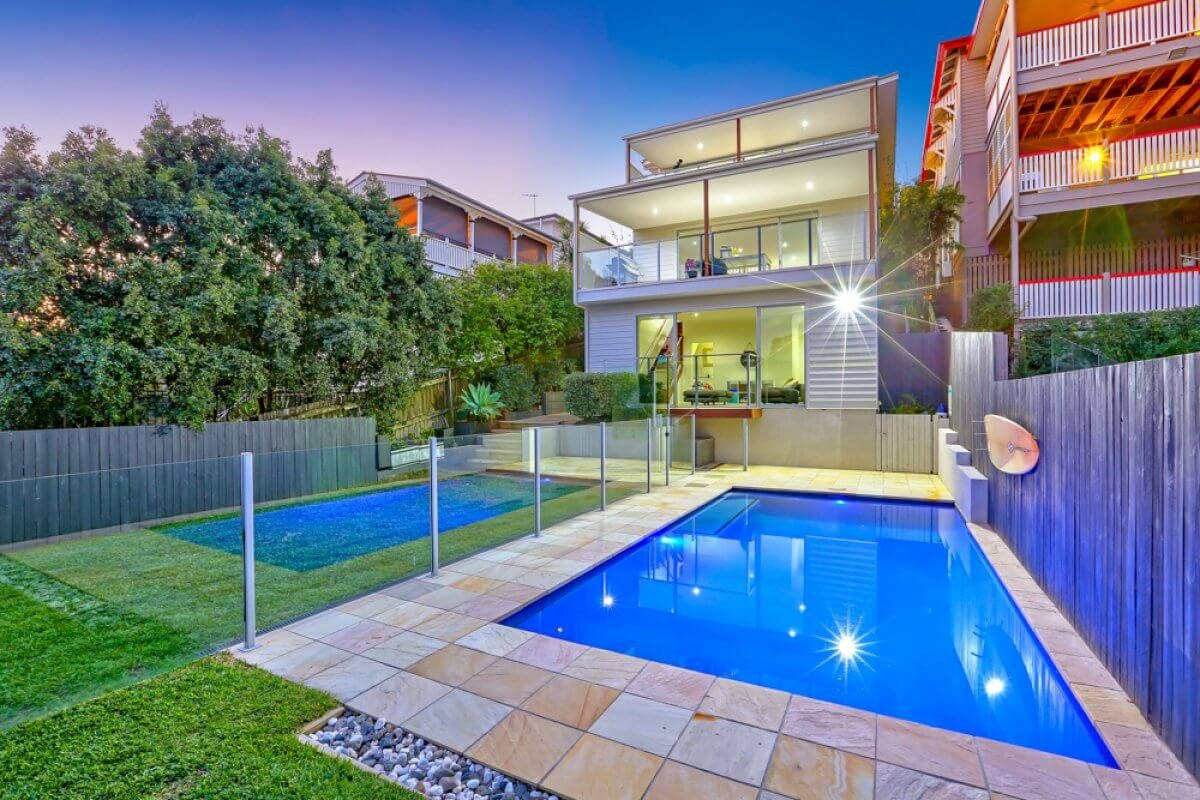 Vivid Productions Residential Real Estate Photography - Inground Swimming Pool