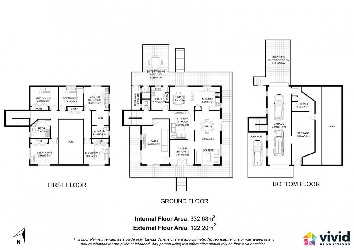 Vivid Productions Services - and Commercial Real Estate Floor Plan Design and Photography